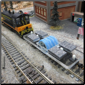 Model Railroad Track Cleaner
